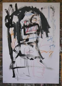 "Saatchi Art Artist Harold Westerink; Drawing, ""Little schoolgirl"" #art"