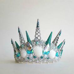 Handmade Seashell Crown by Jeneca's FantaSEA