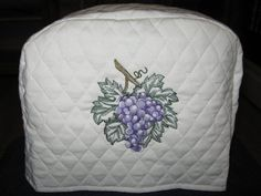 Grapes 2 or 4 Slice Toaster Covers, Cream Color. Kitchen Decor in Home & Garden, Kitchen, Dining & Bar, Linens & Textiles | eBay