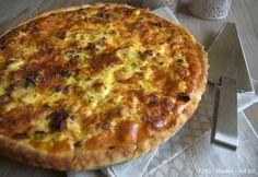 Super lækker tærte med kylling og bacon - nem at lave og altid et hit på middagsbordet. Gerne med lidt blandet salat ved siden af.