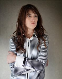 Style icon Charlotte Gainsbourg.