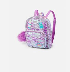 Sweet Treat Flip Sequin Mini Backpack. Justice Bags, Mini Backpack, Fashion Backpack, Sequins, Backpacks, Sweet, Dresses, Purses, Candy