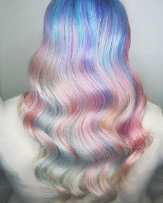 6 Summer Colorful Hair Ideas for Daring Girls