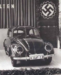 Vw Beetle - presentation of the first kdf wagen were handed over to agents of the S. S
