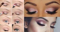 No vas a poder resistirte a estas combinaciones de maquillaje. Eye Makeup Steps, Makeup Tips, Makeup Drawing, Makeup Tattoos, Free Makeup, Party Makeup, Eye Make Up, Mascara, Eyeshadow