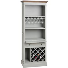 HICKS and HICKS Classic Drinks Cabinet  -  Our classic drinks cabinet is perfect for a kitchen, dining room or even a study! This is a multi-functioning unit with a wine rack at the bottom of the unit w...