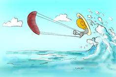 Kite Surfing Anyone?
