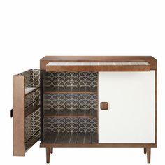 Orla Kiely Drinks Cabinet.
