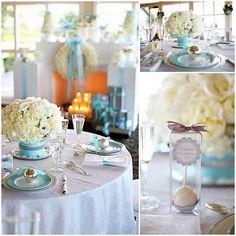 pretty winter wonderland tables