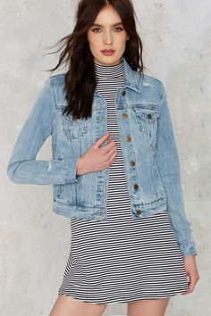 Nasty Gal Scratch That Denim Jacket | Shop Clothes at Nasty Gal!