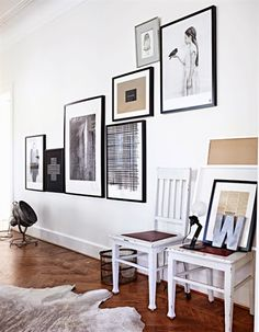 Art placement on walls gallery wall a creative home decor inspiration a wall art a eclectic Inspiration Wall, Interior Inspiration, Gallery Wall Layout, Gallery Walls, Art Gallery, My New Room, White Art, Black White, Sweet Home