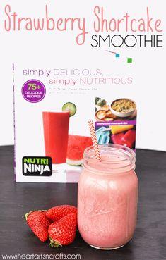 Strawberry Shortcake Smoothie & The Nutri Ninja® | Ninja® Blender DUO™ Review #sponsored