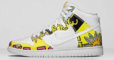 """Nike SB Dunk High """"De La Soul"""" Official Images"""