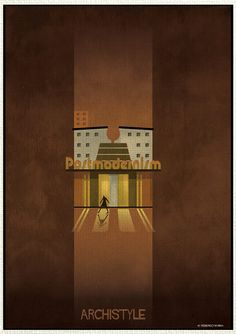 Italian architect and illustrator Federico Babina is back with a new series mixing architecture and illustrations : Archistyle. School Architecture, Residential Architecture, Architecture Design, Illustrations, Drawing Techniques, Art World, Building Design, Art History, Style Guides
