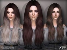 Sims 4 Hairs ~ The Sims Resource: Brower hair by Ade Darma Sims 4 Hair Male, Sims 4 Black Hair, Sims 2 Hair, Mods Sims 4, Sims 4 Mods Clothes, Sims 4 Clothing, Sims 4 Pets, The Sims 4 Cabelos, Mod Hair