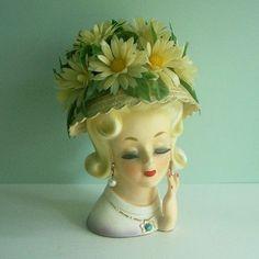Vintage head vase.