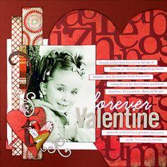 *Forever Valentine* ST March '09 - Scrapbook.com