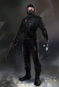 Captain America The Winter Soldier concept artwork