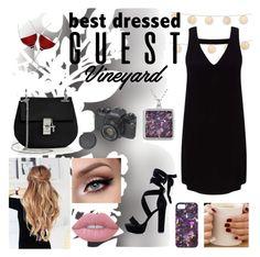 """Best Dressed Guest"" by blakcirclegirl on Polyvore featuring Élitis, Miss Selfridge, Lime Crime, LSA International, Chloé, napa, winerywedding, bestdressedguest and vineyardwedding"