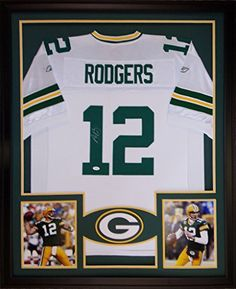 Aaron Rodgers Framed Jersey Signed JSA COA Autographed Green Bay Packers Mister Mancave http://www.amazon.com/dp/B01BU2RX60/ref=cm_sw_r_pi_dp_nBz5wb1VT4NX7