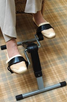 Great way to exercise while sitting down the Pedal Exerciser helps those who have mobility issues and find it hard to stay fit. Exercise While Sitting, Stay Fit, Digital, Accessories, Keep Fit, Fit Bodies, Ornament
