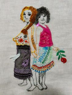 """D o k n o m m e a w - p l a y: Playful Embroidery #8 @joyrukclub """"มานี ชูใจ"""" 4,14 May14"""
