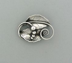 Georg Jensen - Sterling Brooch