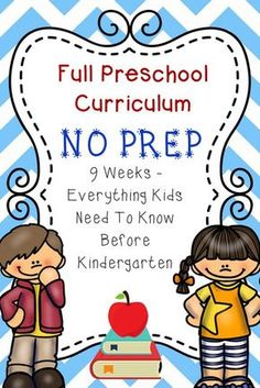 Print units for jake: Full Preschool Curriculum: No Prep! Everything your child needs to know before Kindergarten! Preschool Lessons, Preschool Kindergarten, Preschool Learning, Toddler Preschool, Preschool Activities, Educational Activities, Preschool Binder, Opposites Preschool, Preschool Routine