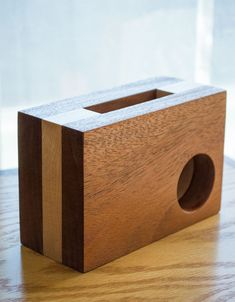 iPhone Amplifier - iPhone Speaker - Desk Accessories - Office Decor - iPhone Dock - Phone Station - Portable Speaker - Mobile Accessories This Mobile Accessories, Desk Accessories, Ipe Wood, Diy Speakers, Home Gadgets, Wood Colors, Iphone, Portable, Diy Woodworking
