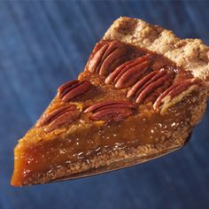 Pecan Pie | Try substituting walnuts, cashews or macadamia nuts in this rich Thanksgiving holiday staple. The nutty piecrust enhances the pecan's nutty flavor. IncredibleEggl.org/Recipes