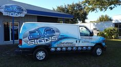 Our New Van just wrapped!