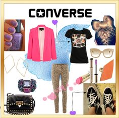 """Make It You: Edgy"" by cupcakekisses on Polyvore"