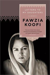 really interesting memoir.  Fawzia's life through letters to her daughters and then chapters about living in Afghanistan.  Interesting, inspiring, and well-written.  I couldn't put it down.