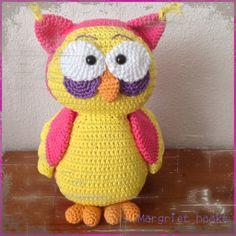 Gehaakte uil, crochet owl
