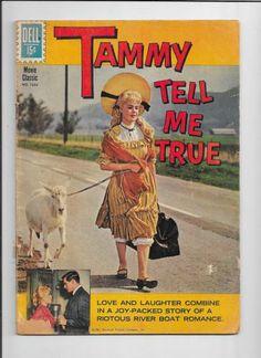 Tammy Tell Me True Four Color 1233 1961 Dell Sandra Dee John Gavin Fair Good   eBay