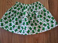 St. Patty's Day skirt on Etsy, $18.00