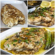 Fresh Sole or Γλωσσα manier Greek Recipes, Fish Recipes, Seafood Recipes, Fish Dinner, Weight Watchers Meals, Fish And Seafood, Food Porn, Pork, Veggies