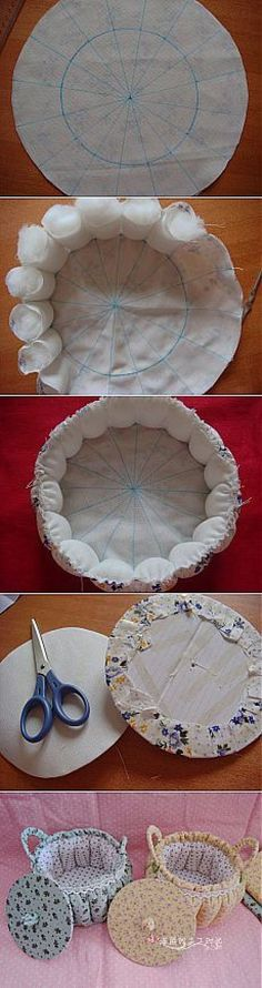 Best Ideas For Basket Diy Bread - Korb und Kiste Diy Home Crafts, Diy Crafts To Sell, Diy Crafts For Kids, Baby Sewing Projects, Sewing Crafts, Diy Projects, Diy Y Manualidades, Baby Quilts, Fabric Crafts