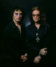 Glenn Hughes(deep Purple)y Tonny Iomy (black sabbath)