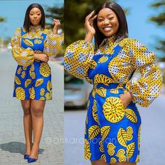 African Fashion Ankara, African Inspired Fashion, Latest African Fashion Dresses, African Print Fashion, Short African Dresses, Ankara Short Gown Styles, African Print Dresses, African Attire, African Wear
