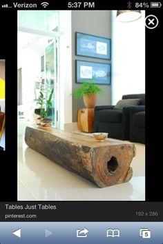 Side log table