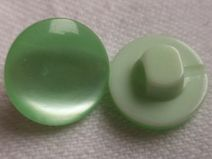 10 kleine grüne KNÖPFE 12mm (1171-3) Knopf grün