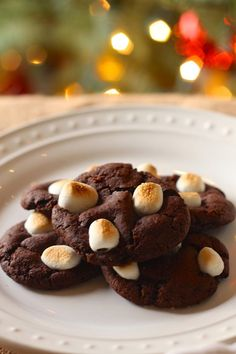 These chocolatey hot cocoa crinkle cookies with a toasted marshmallow topping are vegan and absolutely delicious- perfect to make during the holiday season.Merry Christmas! My Christmas wish is for everyone to enjoy a day filled with food, family, laughter and love. And COOKIES! Today I'm sharing a special holiday cookie recipe that's vegan friendly and…