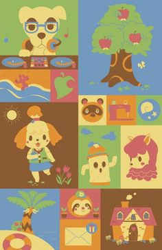 #animalcrossing #videogames #cartoon.