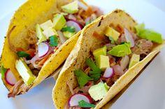 Crock-pot Kimchi Tacos
