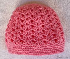 Suzies Stuff: PERFECT PINK SHELLS CAP: free crochet pattern