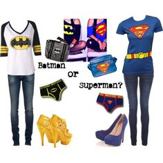 Thanks Cat for sharing with me :) Totally would be batman. I have a similar shirt...just now need the rest :)