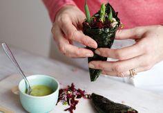 Nori Hand Rolls by Renée Elliott via goop.com #Nori #Renee_Elliott #goop