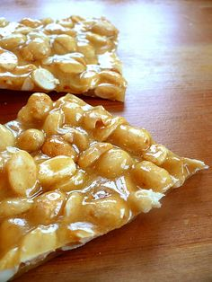 Peanut Brittle.  Every year my mom made peanut brittle.