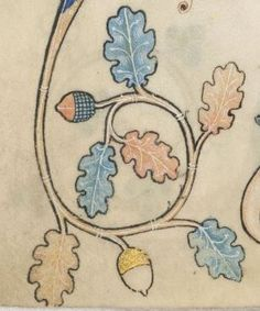 Detail from The Luttrell Psalter, British Library Add MS 42130 (medieval manuscript,1325-1340), f179v